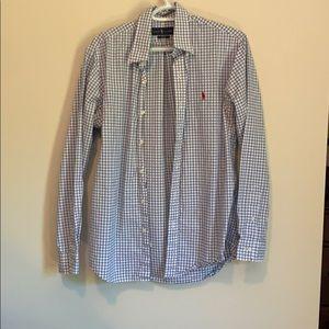 Ralph Lauren Dress Shirt- Checkered